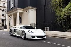 From Saudi Arabia (jordanpoole2) Tags: white mayfair london supercar super autos car cars carreragt gt carrera porsche