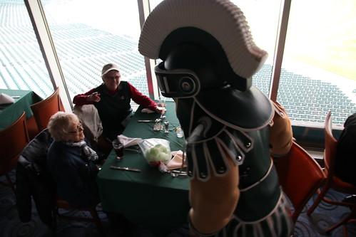 Spartan Baseball at Comerica Park, April 2018