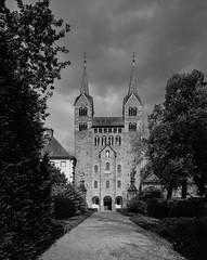 Corvey-25-04-2018-002 (Joerg Alfons) Tags: corvey abbey church westfront unesco worldheritage romanesque monastery medieval höxter