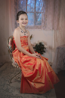 "Ginny Rodgers in ""Orange Dress"" | Photographer | Nashville | Model | Actor | Character | Headshot"