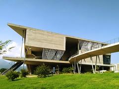 Cidade das Artes (Márcio Vinícius Pinheiro) Tags: riodejaneiro rj arquitetura architecture engenharia egenhariacivil engeneering concreto concretoaparente concretefacade concrete vãolivre clearance cidadedasartes