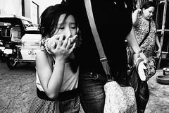 Shut Up (Meljoe San Diego) Tags: meljoesandiego ricoh grd4 grdiv streetphotography people candid monochrome alaminoscity philippines