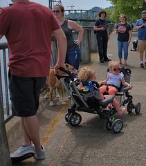 Unique Dual Child Wagon (Scott 97006) Tags: kids parents wagon ride cute twins unique