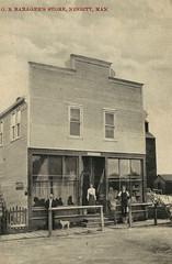 Nesbitte - Barager's Store (vintage.winnipeg) Tags: manitoba canada vintage history historic ninette
