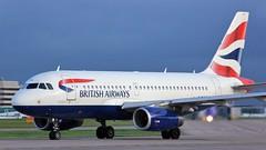 G-EUPZ (AnDyMHoLdEn) Tags: britishairways a319 oneworld egcc airport manchester manchesterairport 23l