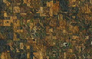 if Van Gogh had google earth