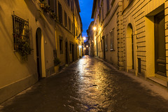 Quiet Montepulciano Street (dcnelson1898) Tags: travel vacation italy family country tuscany montepulciano tuscan town walls