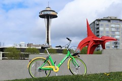 OLYMPIC PARK (PINOY PHOTOGRAPHER) Tags: seattle city washington state bicycle olympic park united states america usa wow perfect angle view picturesque smorgasbord trek lines curves scene portrait angles frame image wonderful picture photography art flickr trip tour travel world color pov framing amazing popular interesting canon choice camera work top famous significant important item special topbill light creation awesome visual viajar litrato larawan line curve like