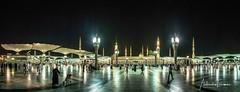 L1240167-Panorama (a.elhamine) Tags: mosquée annabawi masjid arabie saoudite medine