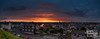 Drogheda red sky panorama (mythicalireland) Tags: red sky sunset setting sun clouds dramatic rain overcast night dusk twilight golden hour drogheda louth buildings town millmount panorama landscape