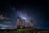 Vía Láctea sobre Caudilla (Yorch Seif) Tags: nocturna nocturnal largaexposicion longexposure víaláctea milkyway noche night estrellas stars