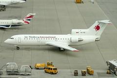Air Moldova International Yak 42D ER-YCB (c/n 4520424304017) (Manfred Saitz) Tags: vienna airport schwechat vie loww flughafen wien air moldova international yak 42 yk42 erycb erreg