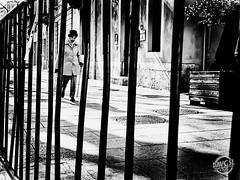 life is a prison (davcsl) Tags: blackwhite bw biancoenero davcsl europe france gard nimes nîmes jesoutiensnîmes jesoutiennîmes languedocroussillon monochrome monotones noiretblanc noiretblancblackwhite nb occitanie old southoffrance people photoderue urbanstreet urban urbanfreeflow streetphotography street streetphoto blackandwhitephotosonly photographiederue fotografiadistradafotografía callejerastrassenfotografie толькочернобелыеq
