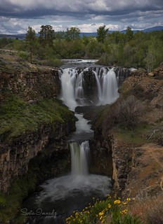 White River Falls. (North Central Oregon)