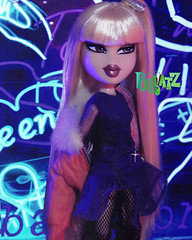 Playback (alexbabs1) Tags: bratz doll jade color me crazy 2013 prototype ooak mgae mga entertainment passion 4 fashion loves it glam sexy hot yes gawd haha slay werk mama neon nights playback stacey q baby i love you hehe xd dope bangs blonde blond midnight dance yasmin cross crucifix fishnets socks campfire cloe jacket hair style hairstyle sarah palins