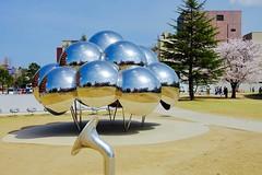 """Spherical Pavilion """"MARU"""", Kanazawa, Japan (Ken Lee 2010) Tags: museum kanazawa japan 妹島和世 西沢立衛 kazuyosejima ryuenishizawa sanaa"""
