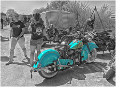 Show Stopper (The Landscape Motorcyclist) Tags: v twin customs vtwincustom indian explore motorcycle iphone5s bikes bikers photoshop handjob