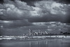 The Sunshine State (hotpotato70) Tags: goldcoast queensland australia cbd q1 blackandwhite monochrome beach pacificocean sea reflections clouds 7d silverefexpro2 sand water sky surfersparadise mainbeach cityscape 2470mm storm canon