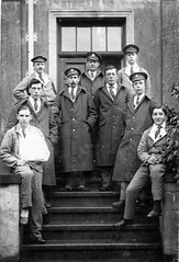 British soldiers during WW (foundin_a_attic) Tags: photo british soldiers during ww blue hospital wwi recuperation