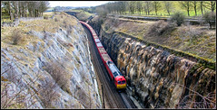 Journey to the centre of the earth (Blaydon52C) Tags: class60 tug railway rail railways railfreight trains train transport peak forest dowlow greatrocks derbyshire district dbschenker dbs dbcargo ews 60015 6h52