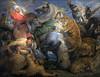La Chasse au tigre, Rubens, musée des beaux-arts de Rennes (Selbymay) Tags: chasse tigre rubens rennes 2018