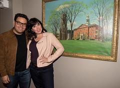 Williams College (williamsclubny) Tags: alumnigathering broadway frozenthemusical interview kristenandersonlopez robertlopez talk willliamscollege events santafe nm unitedstates