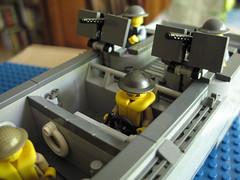 boat5 (Franckybrique) Tags: lego boat higgins higginsboat barge débarquement dday péniche