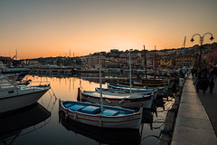 Harbour light.... (Dafydd Penguin) Tags: harbour harbor port dock boats fishing evening light sunset sun sea water harbourside quay quayside moorings cassis cote dazur france mediterranean leica m10 elmarit 21mm f28