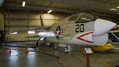 Vought F8U-2N F-8H Crusader in Liberal (J.Comstedt) Tags: midamerica museum airplane aviation aircraft aeroplane liberal kansas usa vought f8u2 f8 crusader us navy 148693 air johnny comstedt