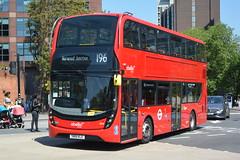 SN18 KLE (2614) Abellio London (hotspur_star) Tags: londontransport londonbuses londonbus londonbuses2018 alexanderdennisltd enviro400hmmc tfl transportforlondon hybridbus hybridtechnology busscene2018 doubledeck abelliolondon sn18kle 2614 196