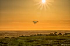 Drone sunset (Steve Samosa Photography) Tags: billinge england unitedkingdom gb drones sunset uav droneshot