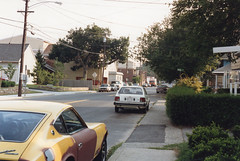 Summer always brings back a lot of lost memories,  much like this one of Merwin Avenue at the corner of Rock Street taken in late afternoon light across the street from Long Island Sound. Can U identify some of these cars? Milford Connecticut. Aug 1985 (wavz13) Tags: oldphotographs oldphotos 1980sphotographs 1980sphotos oldphotography 1980sphotography vintagesnapshots oldsnapshots vintagephotographs vintagephotos vintagephotography filmphotos filmphotography vintagemilford oldmilford 1980smilford vintagewoodmont oldwoodmont 1980swoodmont vintageconnecticut oldconnecticut 1980sconnecticut carphotography carphotos automotivephotography automotivephotos oldcar vintagecar 1960scar 1970scar collectiblecar collectablecar antiquecar oldcars vintagecars 1970scars collectiblecars collectablecars antiquecars oldcadillacs oldcaddies vintagecadillacs vintagecadddies 1980scadillacs 1980scaddies connecticutshoreline dusk evening oldrestaurants vintagerestaurants antiquerestaurants lunchcounters oldlunchcounters vintagelunchcounters antiquelunchcounters connecticutphotographs connecticutphotos connecticutphotography oldconnecticutphotography oldconnecticutphotos vintagenewengland oldnewengland 1980snewengland vintagenewenglandphotography oldnewenglandphotography connecticutbeaches milfordbeaches vintage35mm old35mm vintagekodacolor sunset earlyeveninglight