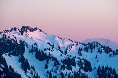 St. Helens peeking over (Laura Jacobsen) Tags: camping mtrainier mtrainiernationalpark nationalparks paradise rainier snow washington