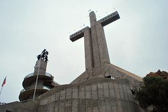 The Third Millennial Cross - Coquimbo (unclebobjim) Tags: thethirdmillennialcross coquimbo concrete religious monument papal approval chile