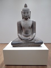 Chicago, Art Institute, Granite Buddha Shakyamuni Seated in Meditation, India, 12th Century (Mary Warren 10.5+ Million Views) Tags: chicago artinstitute art sculpture granite buddha