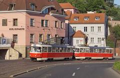 Tatra T3SUCS #7142   Prag (Philip Klug) Tags: tatra prag prague praha ckd t6 t3 t6a2 t3sucs tram strasenbahn villamos cz dip dpp