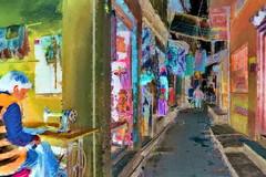India - Uttar Pradesh - Varanasi - 468bb (asienman) Tags: india uttarpradesh varanasi streetlife asienmanphotography asienmanphotoart asienmanpaintography