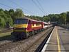 90039 (Geoff Griffiths Doncaster) Tags: 90039 hadley wood virgin east coast 1b88 db cargo class 90