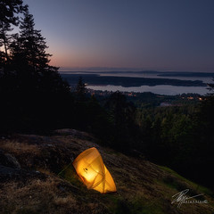 Wild Camping (Sunset) | May 2018 (pklopper) Tags: wild camping vancouver island