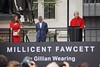 Millicent Fawcett Statue 03 - Theresa May Speaks (garryknight) Tags: sony a6000 on1photoraw2018 london creativecommons ccby30