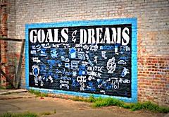 Goals & Dreams -- Clarksdale, MS (forestforthetress) Tags: clarksdale google omot nikon outdoor letters text names message goals dreams students flickr