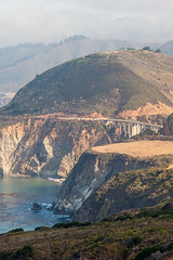California State Route 1 (AdrienG.) Tags: bixby bridge cliff falaisecoastal road state route coast cotiere highway 1 one ocean pacifique pacific pier ponton californie california usa etats unis ameriques united states america アメリカ合衆国 nikon ニコン d700 nikkor 135 f2 afd dc