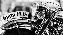 BMW 1938 (Sean Batten) Tags: london england unitedkingdom gb blackandwhite bw kingsrd bmw 1938 nikon df 58mm motorbike bike chelsea city urban