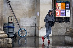 Red Nikes (garryknight) Tags: sony a6000 on1photoraw2018 london creativecommons ccby30 street candid coventgarden piazza unicycle youth teenager teenage boy shoes trainers red nike