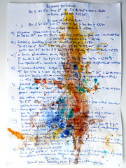 Seeding divine event / ascension codes for the liberation of Gaia & humanity (MizzieMorawez) Tags: acryl painting art intuitive speedpainting cardbord recycling paper automatic colorful experimental explosive