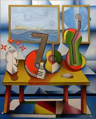 Mesa de Músico XXX (Teixeira Leite) Tags: artemoderna modernart artebrasileira brasil cubismo teixeiraleite óleosobretela
