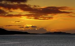 West Coast Sunset (PeskyMesky) Tags: sunset sunrise ullapool westcoast island sky red landscape canon canon6d leefilter ndgrad water northcoast500 nc500