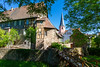Michelstadt - Burggraben (Frankonius) Tags: michelstadt hessen hesse deutschland germany altstadt oldtown kirche burg church castle frühling spring