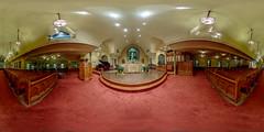 Christ and Saint Stephens Episcopal Church Nave (jamescastle) Tags: church episcopal panorama equirectangular 360 vr nyc manhattan