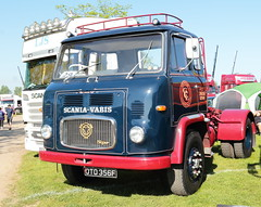 Scania-Vabis Super OTO356F Peterborough Truckfest 2018 (davidseall) Tags: scania vabis scaniavabis super old truck lorry tractor unit artic large heavy goods vehicle lgv hgv oto356f oto 356f peterborough truckfest may 2018